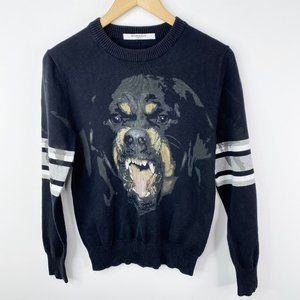 Givenchy Rottweiler Intarsia Pullover Sweater